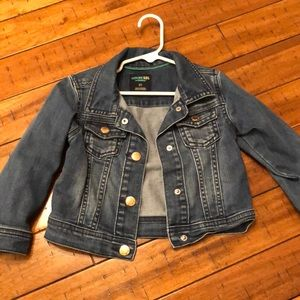 Jean jacket! Worn only several times